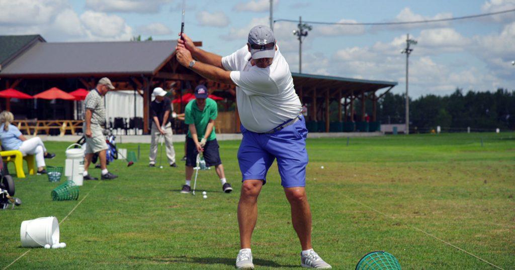 champ de pratique golf l'Express Laprairie